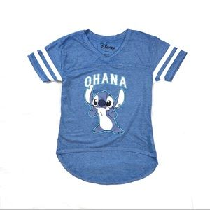 Disney - Stitch Blue Small T Shirt